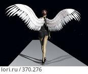 Купить «Девушка-ангел», иллюстрация № 370276 (c) sav / Фотобанк Лори