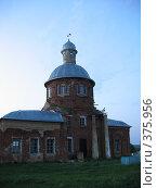Старая церковь. Стоковое фото, фотограф Кардашов Сергей Михайлович / Фотобанк Лори