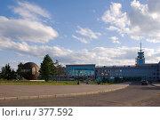 Купить «Омск. Площадь И. Бухгольца», фото № 377592, снято 8 июня 2008 г. (c) Julia Nelson / Фотобанк Лори