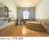Купить «Интерьер современной ванной комнаты», иллюстрация № 378464 (c) Hemul / Фотобанк Лори