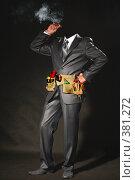 Купить «Гламурный электрик», фото № 381272, снято 30 июля 2008 г. (c) rommor / Фотобанк Лори
