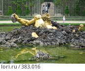Купить «Самый удивительный фонтан Версаля», фото № 383016, снято 26 июня 2007 г. (c) Алла Кригер / Фотобанк Лори