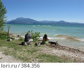 На озере Гарда. Сирмионе. Италия (2008 год). Стоковое фото, фотограф Светлана Кудрина / Фотобанк Лори