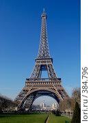 Купить «Эйфелева башня», фото № 384796, снято 24 декабря 2007 г. (c) Tamara Sushko / Фотобанк Лори