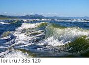 Купить «Штормовая волна», фото № 385120, снято 4 августа 2008 г. (c) RedTC / Фотобанк Лори