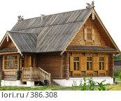 Купить «Изба в Суздале», фото № 386308, снято 20 июля 2007 г. (c) Хименков Николай / Фотобанк Лори