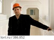 Строитель. Стоковое фото, фотограф Андрей Шахов / Фотобанк Лори