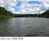 Купить «Река Чусовая в Июле», фото № 388836, снято 27 июля 2008 г. (c) Александр Яшин / Фотобанк Лори