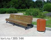 """Скамейка в парке  """"Дубки"""", эксклюзивное фото № 389144, снято 10 июля 2008 г. (c) lana1501 / Фотобанк Лори"""