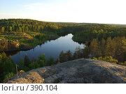 Купить «Треугольное озеро в Карелии», фото № 390104, снято 7 июня 2008 г. (c) Смыгина Татьяна / Фотобанк Лори