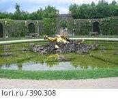 Купить «Самый удивительный фонтан Версаля», фото № 390308, снято 26 июня 2007 г. (c) Алла Кригер / Фотобанк Лори