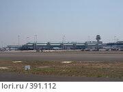 Купить «Аэропорт Фьюмичино (Леонардо да Винчи). Рим, Италия.», фото № 391112, снято 29 июля 2008 г. (c) Алексей Зарубин / Фотобанк Лори