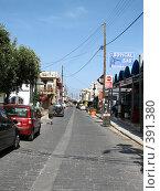 Купить «Родос. Улица в Фалираках.», фото № 391380, снято 20 мая 2008 г. (c) Хименков Николай / Фотобанк Лори