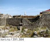 Купить «Родос. Руины крепостной стены в старом городе.», фото № 391384, снято 21 мая 2008 г. (c) Хименков Николай / Фотобанк Лори