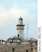 Купить «Мечеть в Иерусалиме. Mosque in Jerusalem», фото № 392116, снято 18 августа 2018 г. (c) Estet / Фотобанк Лори