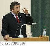 Купить «Саакашвили Михаил», фото № 392336, снято 10 февраля 2004 г. (c) Игорь Лилеев / Фотобанк Лори