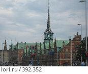 Улица в Копенгагене (2007 год). Стоковое фото, фотограф Алла Кригер / Фотобанк Лори