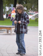 Купить «Молодежная субкультура. Растаман», фото № 393264, снято 7 августа 2008 г. (c) Эдуард Межерицкий / Фотобанк Лори
