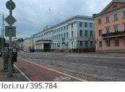 Купить «Ратуша в Хельсинки», фото № 395784, снято 2 августа 2008 г. (c) Андрей Некрасов / Фотобанк Лори
