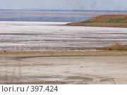"""Купить «""""Солёное озеро"""". Вода высохла, осталась только соль. Таманский полуостров.», фото № 397424, снято 9 августа 2008 г. (c) Федор Королевский / Фотобанк Лори"""