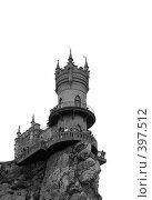"""Купить «""""Ласточкино гнездо"""" Южный берег Крыма», фото № 397512, снято 6 августа 2008 г. (c) ФЕДЛОГ / Фотобанк Лори"""