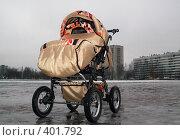 Купить «Гигантская детская коляска», фото № 401792, снято 9 февраля 2008 г. (c) Тарановский Д. / Фотобанк Лори