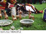 Купить «Глиняные украинские игрушки», фото № 404812, снято 21 июня 2008 г. (c) Павел Савин / Фотобанк Лори