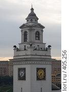 Купить «Восход в Москве», фото № 405256, снято 12 августа 2008 г. (c) Цветков Виталий / Фотобанк Лори