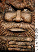 Купить «Леший деревянный», фото № 405300, снято 13 августа 2008 г. (c) Никонор Дифотин / Фотобанк Лори