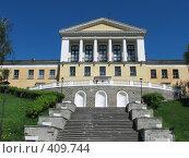 Купить «Зеленогорск.Здание школы», фото № 409744, снято 3 июня 2006 г. (c) Юрий Каркавцев / Фотобанк Лори