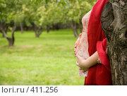Купить «За деревом», фото № 411256, снято 28 июля 2008 г. (c) Ковинько Игорь / Фотобанк Лори