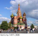 Купить «Собор Василия Блаженного», фото № 411308, снято 2 июля 2006 г. (c) Valeriy Novikov / Фотобанк Лори