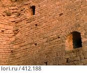 Купить «Старая кирпичная стена», фото № 412188, снято 16 сентября 2006 г. (c) A Челмодеев / Фотобанк Лори