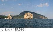 Купить «Вид на скалы Адалары и гору Аю-даг», фото № 419596, снято 20 мая 2019 г. (c) Denis Kh. / Фотобанк Лори