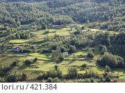 Деревушка. Норвегия (2008 год). Стоковое фото, фотограф E. O. / Фотобанк Лори