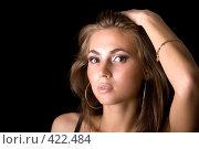 Купить «Девушка», фото № 422484, снято 26 июня 2008 г. (c) Сергей Сухоруков / Фотобанк Лори