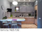 Купить «Интерьер кухни», фото № 423132, снято 17 октября 2019 г. (c) Лямзин Дмитрий / Фотобанк Лори