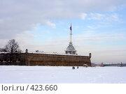 Купить «Санкт-Петербург. Петропавловская крепость зимой», фото № 423660, снято 11 февраля 2007 г. (c) Max Toporsky / Фотобанк Лори