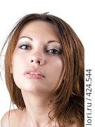 Купить «Молодая девушка», фото № 424544, снято 10 июля 2008 г. (c) Сергей Сухоруков / Фотобанк Лори