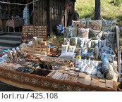 Купить «Валаамские сувениры», фото № 425108, снято 6 августа 2008 г. (c) Морковкин Терентий / Фотобанк Лори