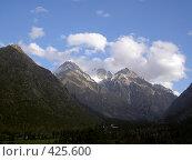Купить «Горы недалеко от Бишкека», фото № 425600, снято 6 мая 2005 г. (c) Михаил Браво / Фотобанк Лори