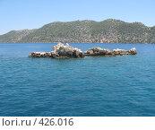 В бухте у острова Кекова в Турции. Стоковое фото, фотограф Дмитрий Головков / Фотобанк Лори