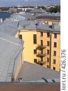 Купить «Санкт-Петербург, крыши домов на Васильевском острове», фото № 426376, снято 15 августа 2008 г. (c) Андрюхина Анастасия / Фотобанк Лори