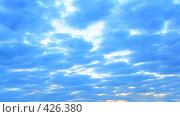 Купить «Утреннее небо», фото № 426380, снято 7 июля 2020 г. (c) Роман Сигаев / Фотобанк Лори