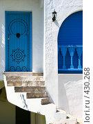Купить «Дом в национальном тунисском стиле. Сиди Бу Саид.», фото № 430268, снято 26 августа 2008 г. (c) Руслан Керимов / Фотобанк Лори