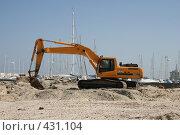 Купить «Строительная техника», фото № 431104, снято 18 июня 2008 г. (c) Устинов Дмитрий Николаевич / Фотобанк Лори