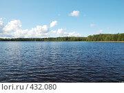 Купить «Пейзаж с озером», фото № 432080, снято 23 августа 2008 г. (c) Катыкин Сергей / Фотобанк Лори