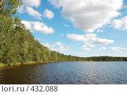 Купить «Лесное озеро», фото № 432088, снято 23 августа 2008 г. (c) Катыкин Сергей / Фотобанк Лори