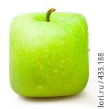 Купить «Квадратное яблоко», фото № 433188, снято 18 июня 2008 г. (c) Валерия Потапова / Фотобанк Лори