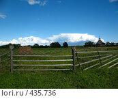 Купить «Сельский пейзаж», фото № 435736, снято 4 августа 2008 г. (c) Морковкин Терентий / Фотобанк Лори